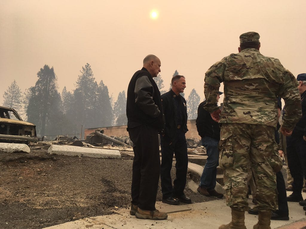 Governor Brown to Attend Memorial Service for Ventura County Sheriff's Sgt., Survey Wildfire Impacts with Secretary Zinke and Emergency Officials in Ventura County Tomorrow