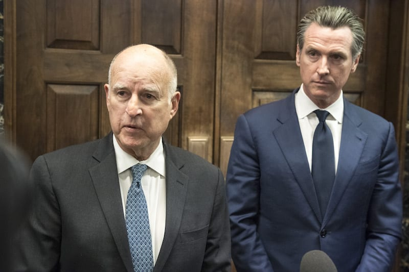 Governor Brown, Governor-Elect Newsom to Join President Trump During Visit to California Tomorrow