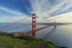 SF Golden State Bridge.