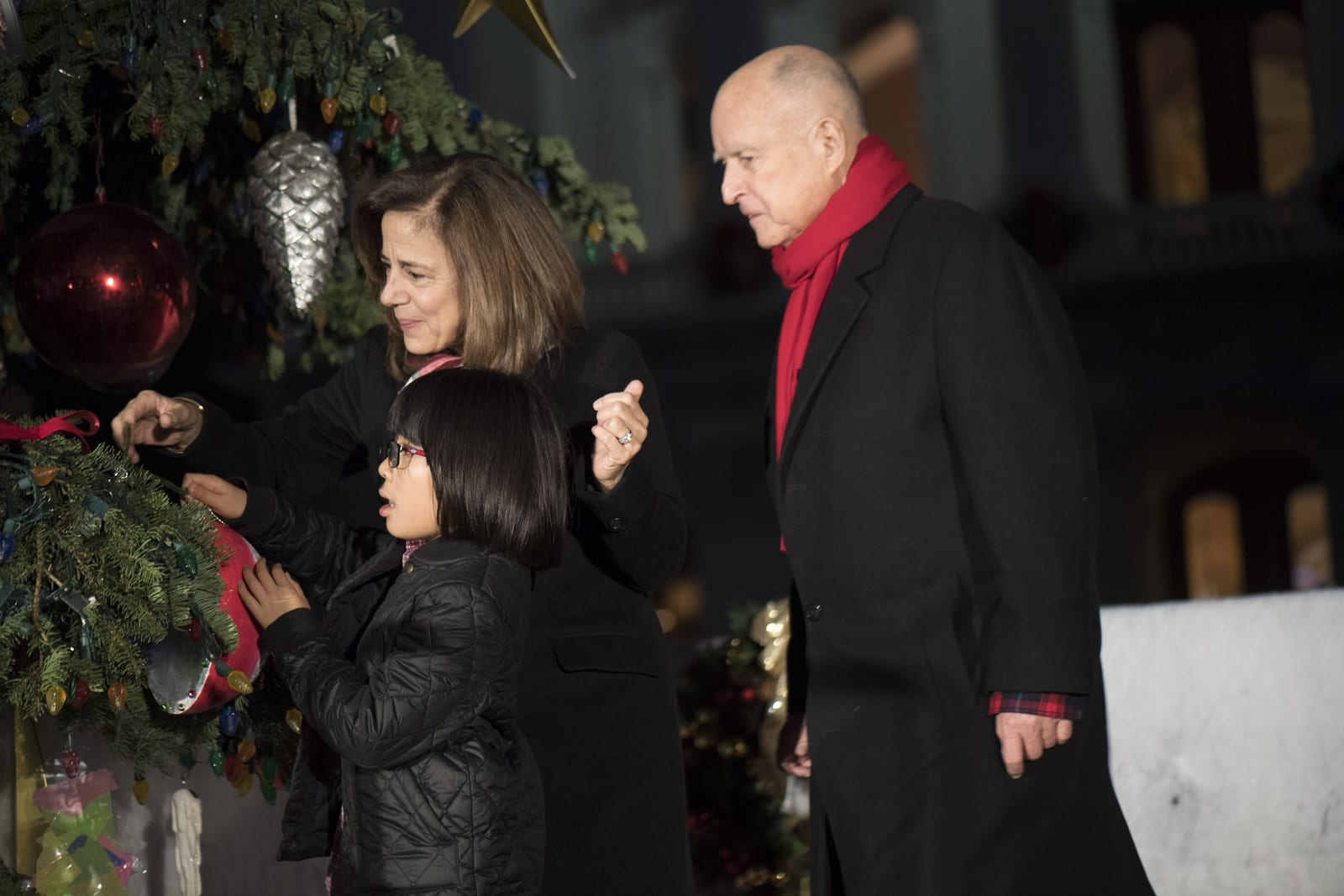 Governor Brown Hosts 87th Annual Capitol Christmas Tree Lighting Ceremony