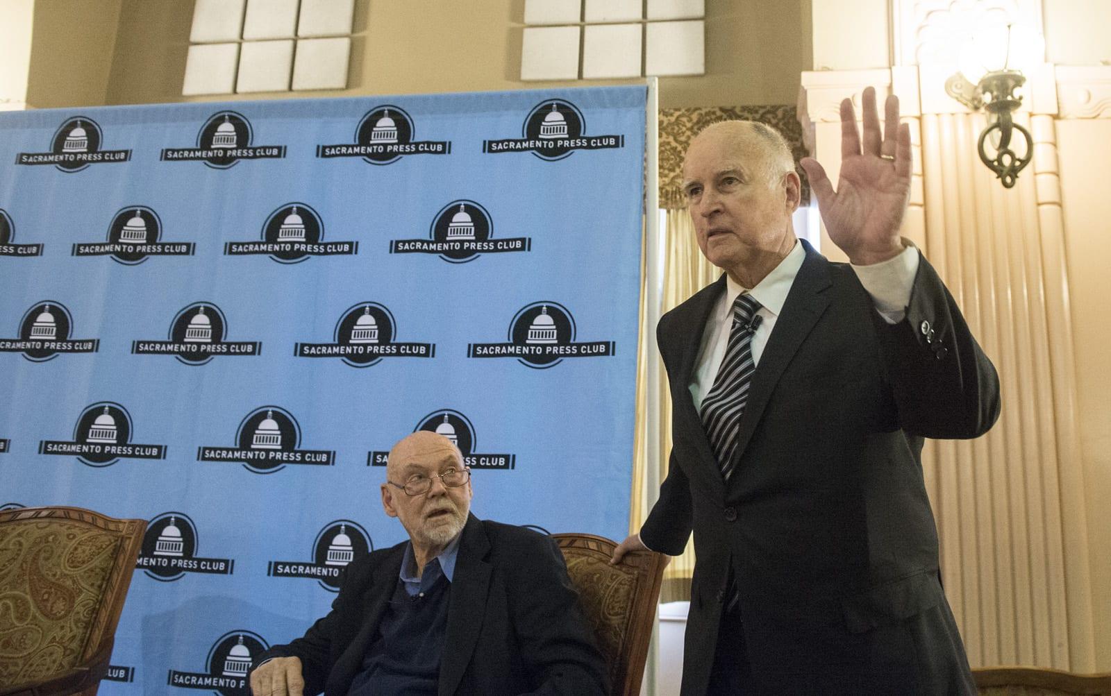 Governor Brown to Speak at Sacramento Press Club Event Tomorrow