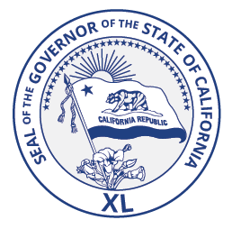 Governor Seal of California