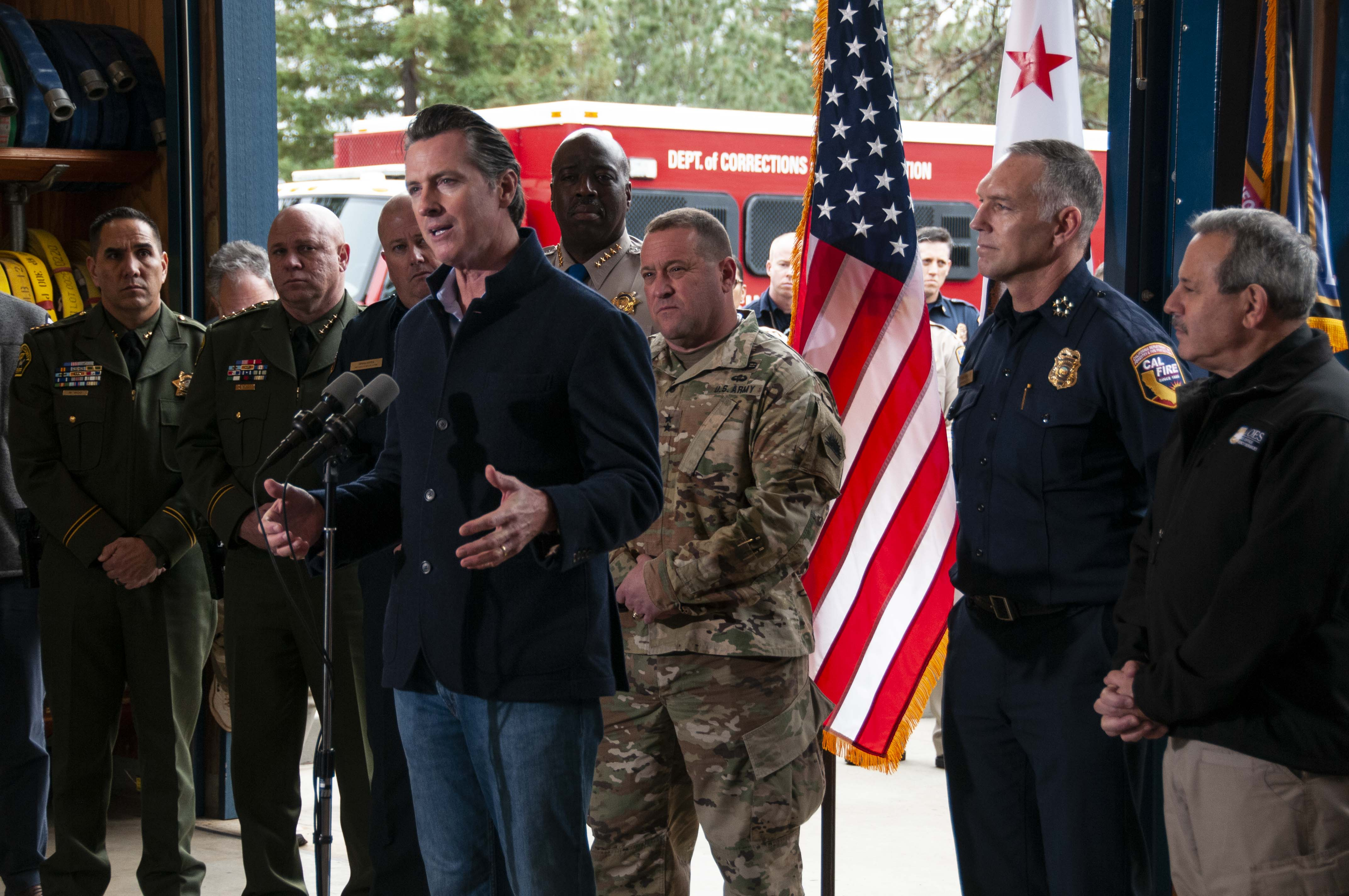Governor Newsom delivers remarks