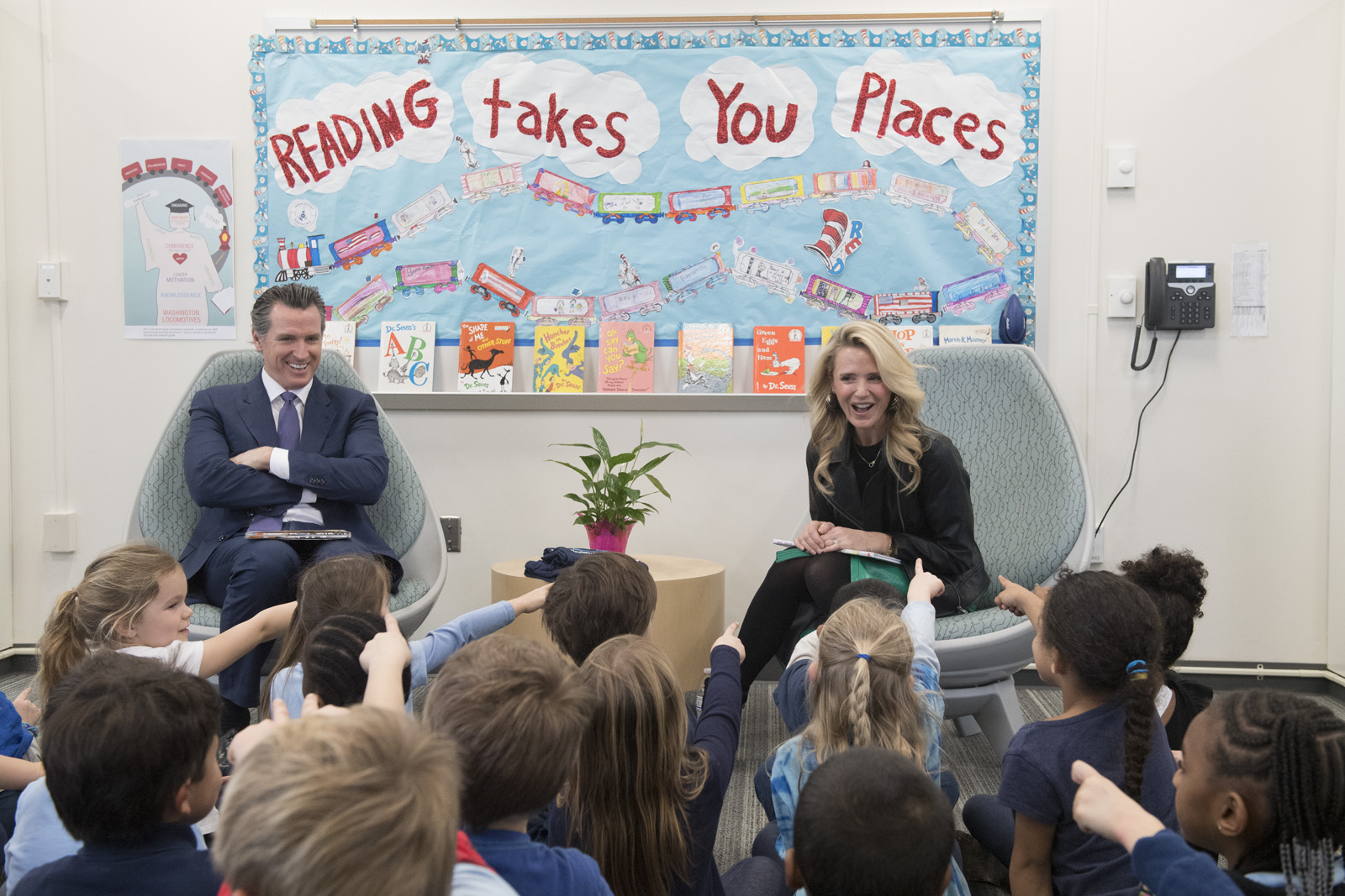 TOMORROW: Governor and First Partner to Celebrate Read Across America in Sacramento