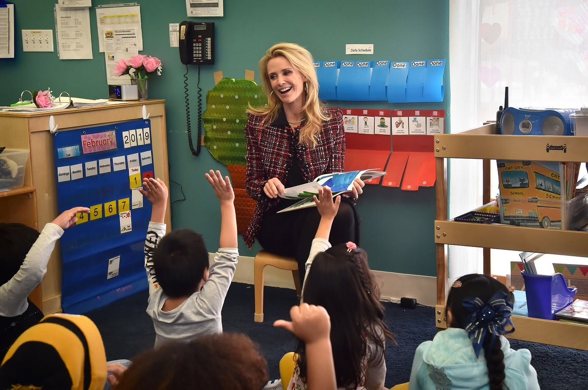 First Partner Jennifer Siebel Newsom and California State Library Launch Five-Week Summer Reading Challenge