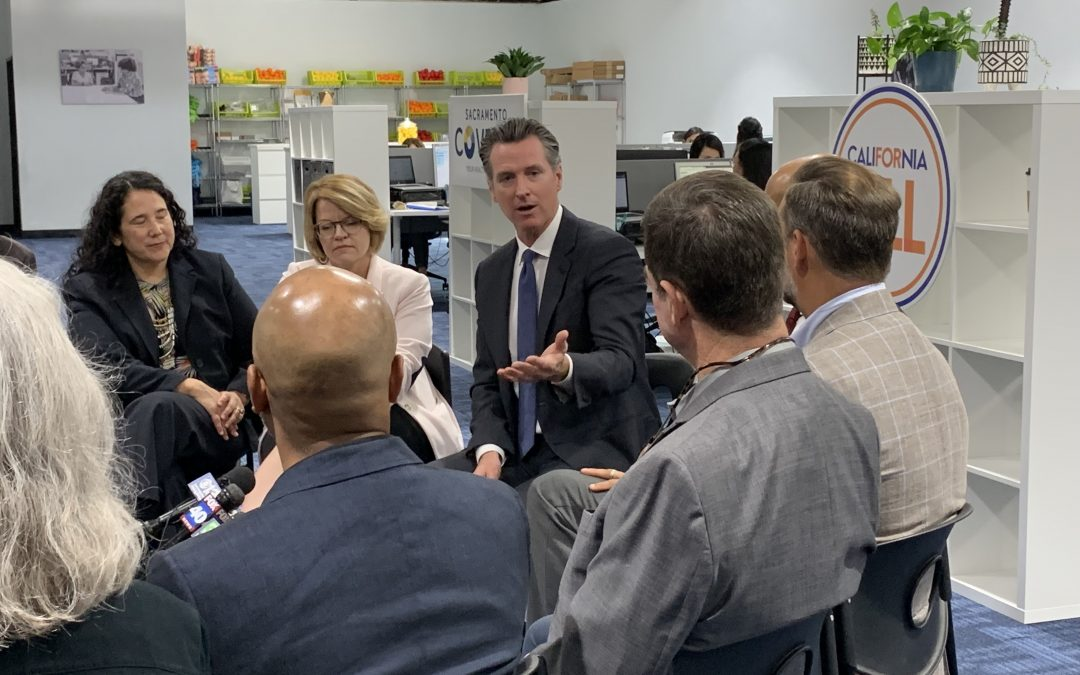 "Governor Gavin Newsom Launches Statewide ""California for All"" Health Care Tour in Sacramento"