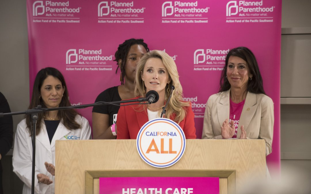 In Face of Attacks on Women's Health, Governor and First Partner Rally in Support of Reproductive Health and Freedom in San Diego