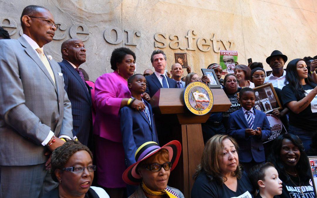 GovernorGavin Newsom Signs Use-of-force Bill