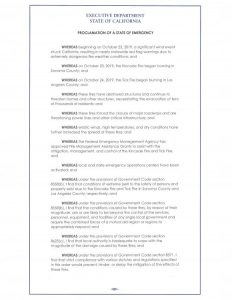 This is page 1 of the full text of the proclamation.