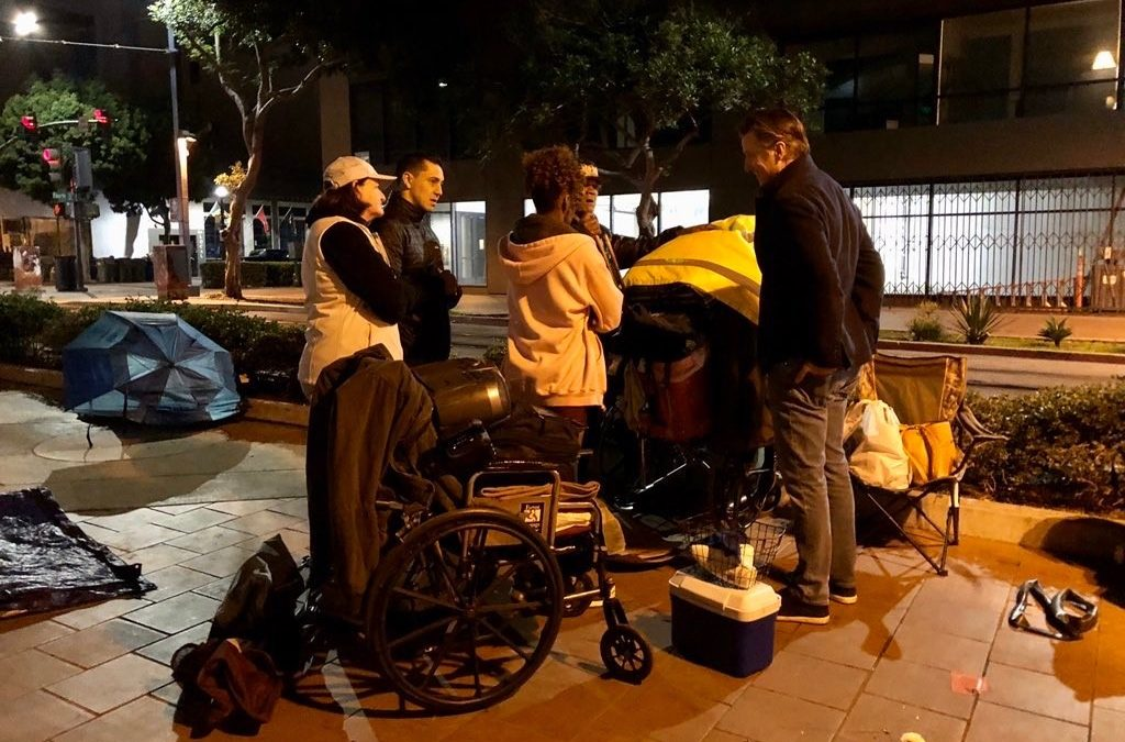 GovernorNewsom and Senate President Pro Tempore Atkins Join Volunteers for San Diego's Point-In-Time Homeless Count