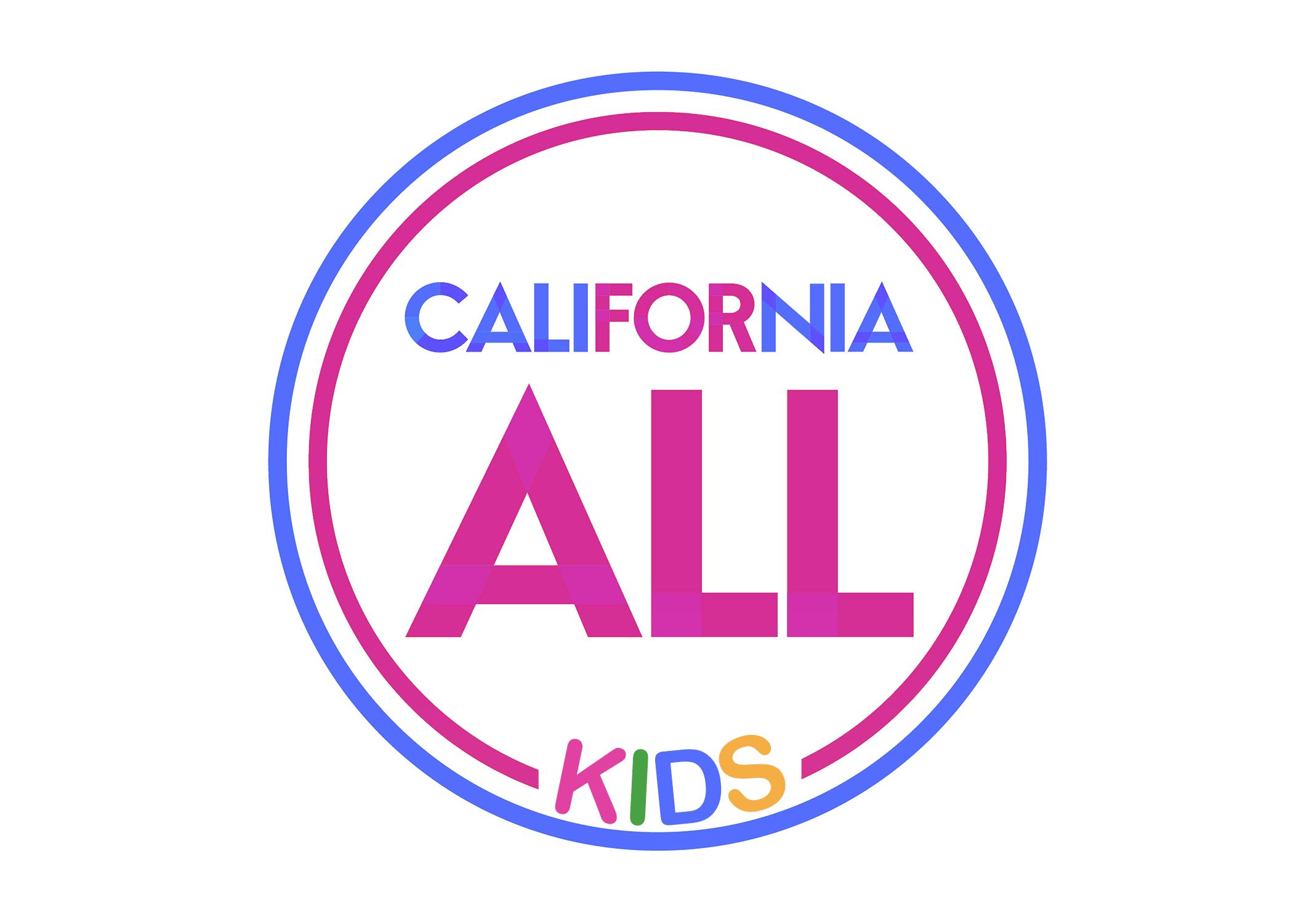 California All For Kids Logo.