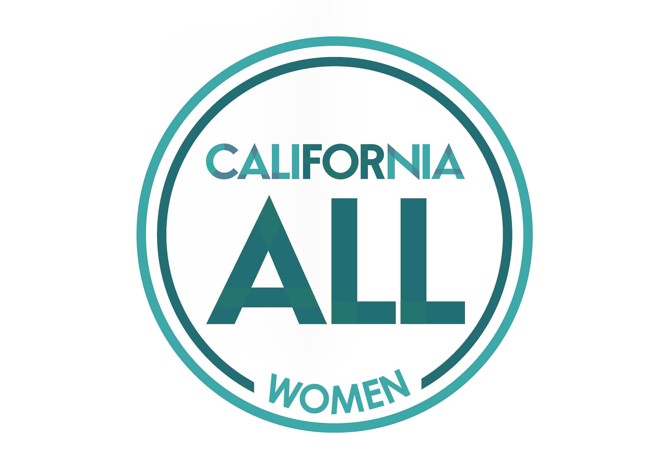 California All For Women Logo.