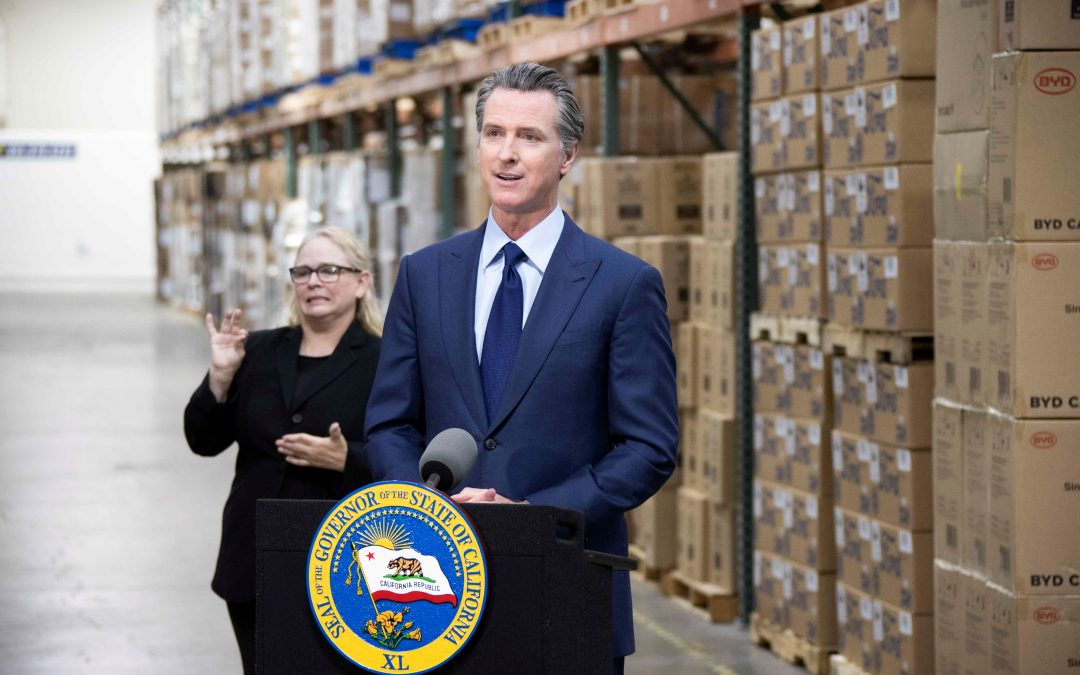 Governor Newsom Announces Enhanced State Stockpile, Purchase of 420 Million New Protective Masks