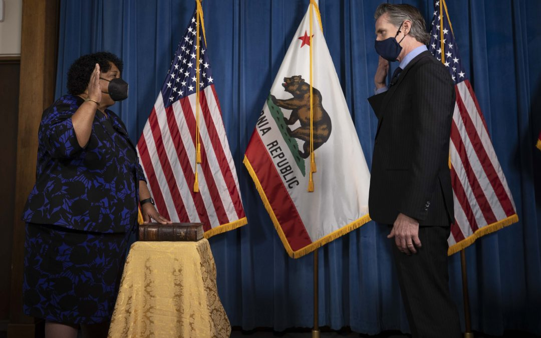 Governor Newsom Swears in Dr. Shirley Weber as California Secretary of State
