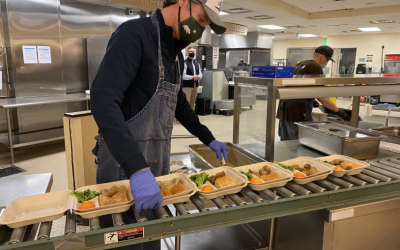On Martin Luther King, Jr. Day of Service, Governor Newsom Serves Meals at St. Anthony's in San Francisco