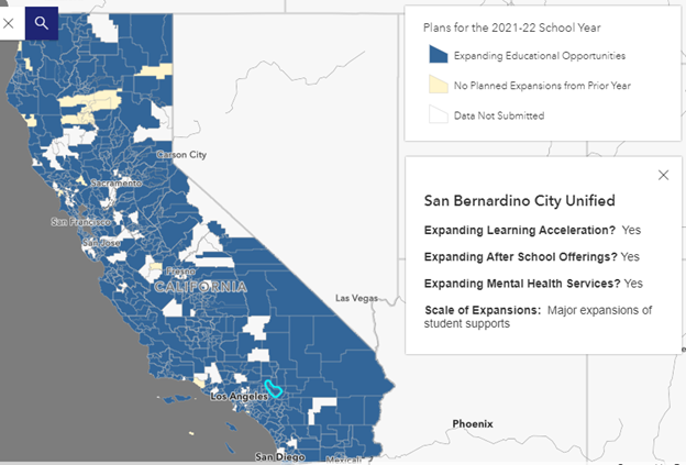 school expanded opportunities map