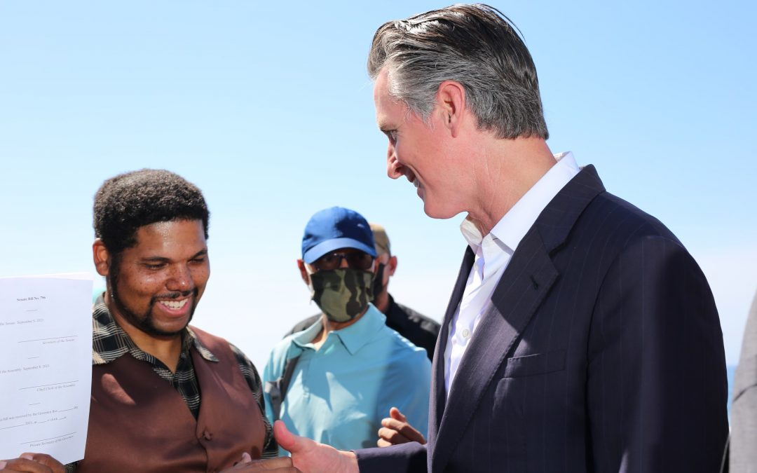 Moving to Right Historical Wrong, Governor NewsomSigns Legislation to Return Bruce's Beach to Black Descendants