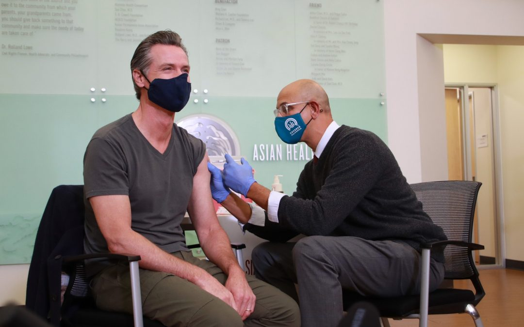 At Oakland Health Clinic, Governor Newsom ReceivesModerna Booster, Encourages Eligible Californians to Get their COVID Booster to Keep Immunity Strong